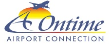 On Time Airport Connection - Pensacola Airport Shuttle Logo